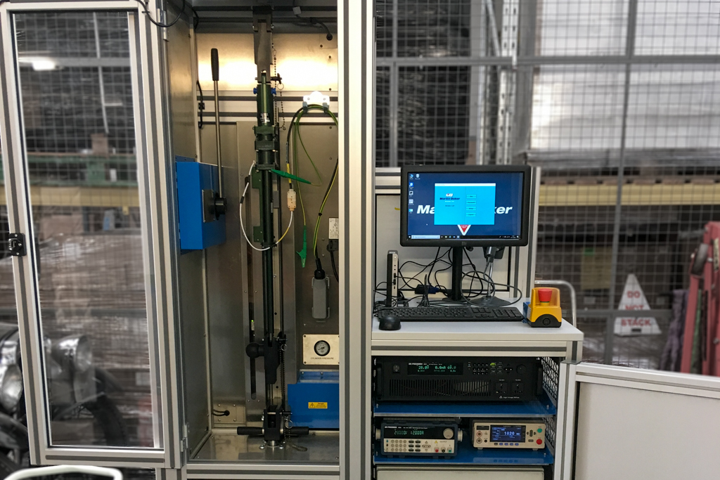 Actuator Performance Test Rig