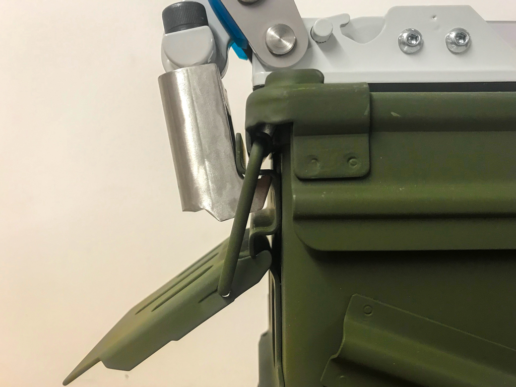 Ammunition Container Clamp
