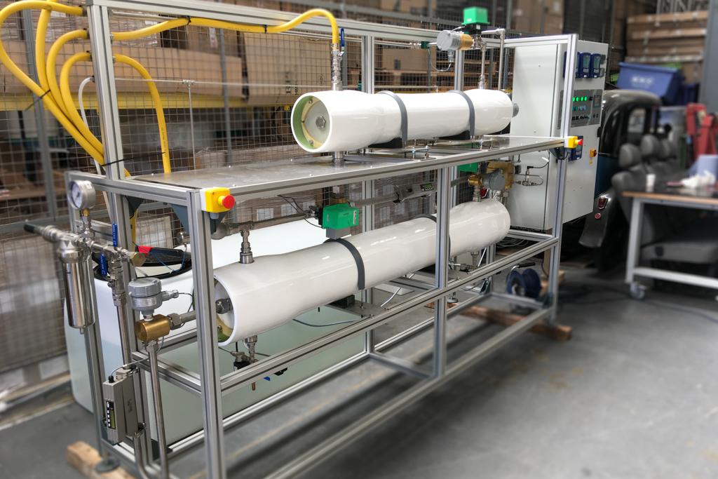 Laboratory Desalination System